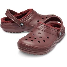 Crocs Classic Lined Clogs, burgundy/burgundy